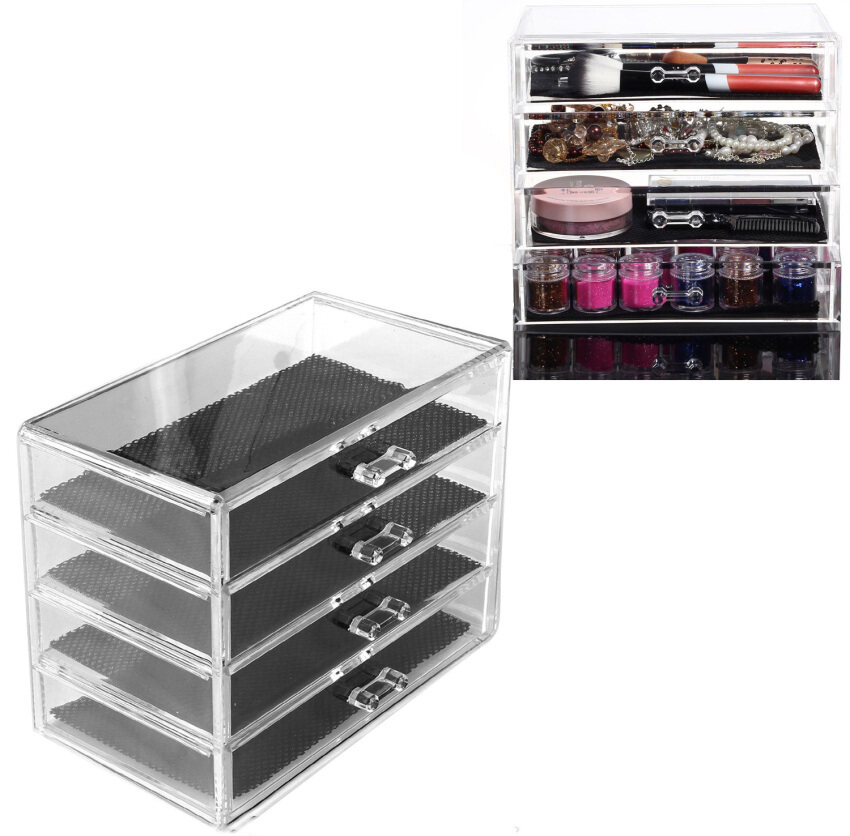 Exhibition Stand Organizer : Yingwei lipstick display stand cosmetic holder clear