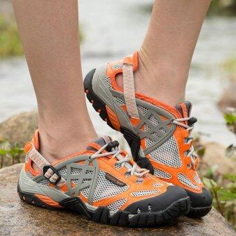 YAER Mens Sport Outdoor Mesh Breathable Hiking Shoe - Intl