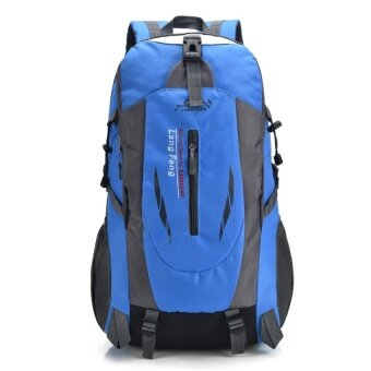 YSLMY Snow bai li outdoor mountaineering backpack large capacity casualtravel bag sports bag shoulder bag men and women travel bag hiking(Blue)