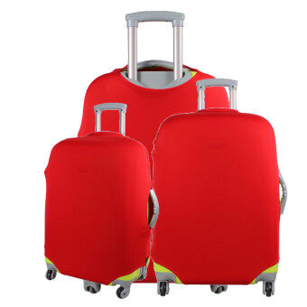 1 x Luggage Protector Elastic Suitcase Cover Bags Dust-proof Case 20'' Red