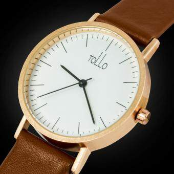 216 Best Quality TOLLO 11 Leather Strap Casual Watch