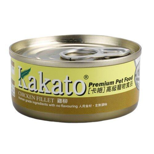 24 cans Kakato Chicken Fillet Canned Food (70gm)