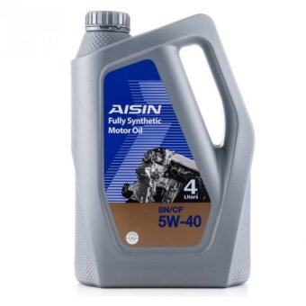 Aisin Sn Cf 5w40 Fully Synthetic Engine Oil 4l Lazada Malaysia