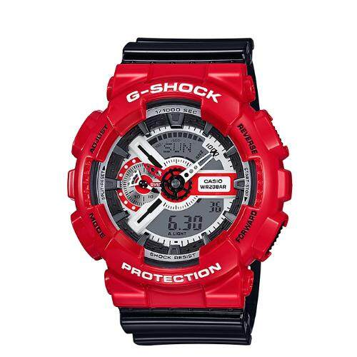 casio g shock mens watch red strap resin band ga110rd 4a lazada casio g shock mens watch red strap resin band ga110rd 4a lazada