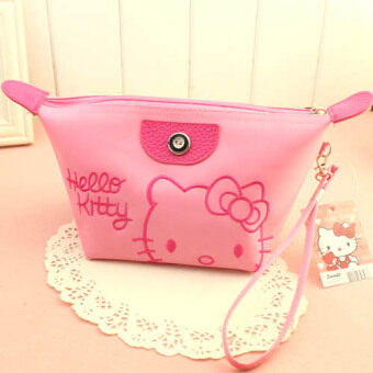Cute travel portable waterproof cosmetic storage bag Korean cosmetic bag