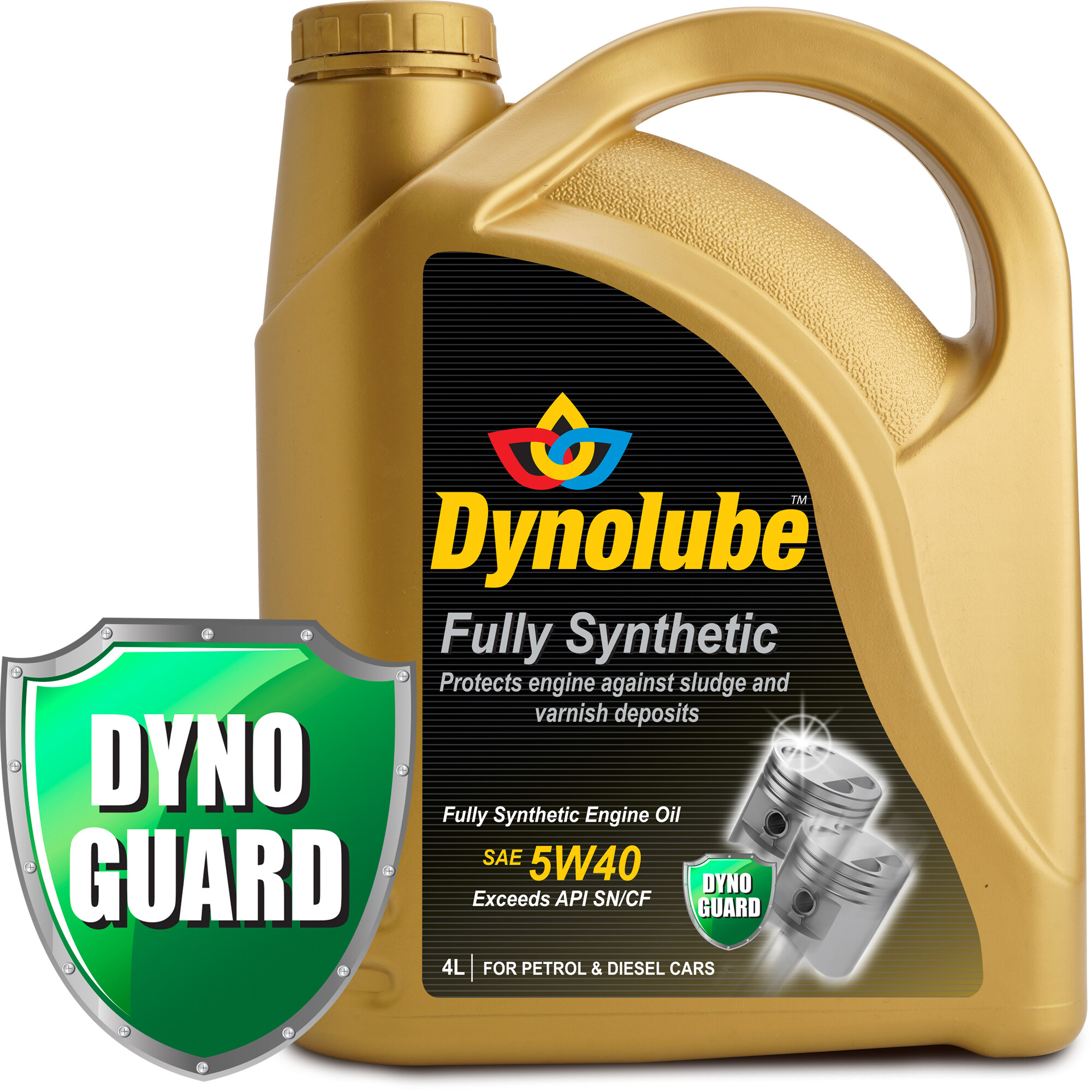 Dynolube 5W40 SN/CF Fully Synthetic 4Liter reviews, ratings and best price in KL, Selangor and Malaysia