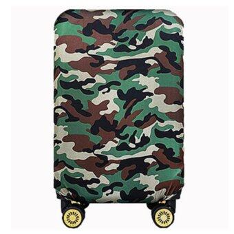 Elastic 24 inch Luggage Cover Suitcase Cover Protector(Cover OnlyNot Luggage)Green