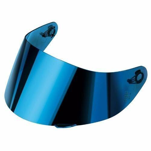 SGV 99 Helmet (Black)+BIKKO Visor (Iridium Blue) | Lazada ...