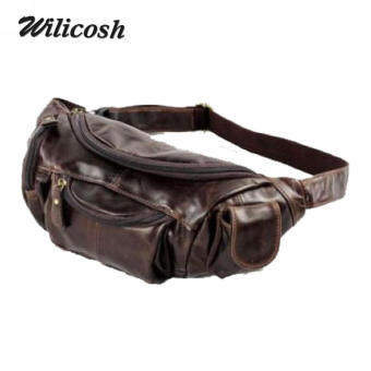 http://id-live-01.slatic.net/p/. 100% First Layer Genuine Leather Men's Multifunction Travel Bags Funny ...