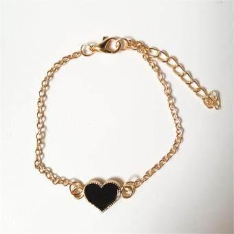 ... Korean Necklace A36604 Source Harga Dan Spesifikasi Ofashion Heart Shape Decorated Mutilayer