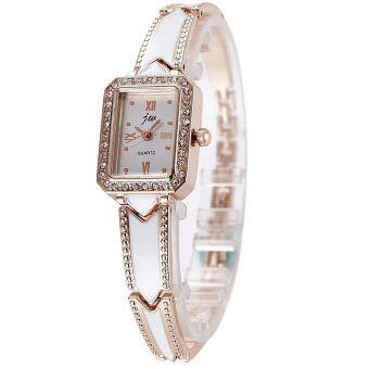 JW 8016 Woman Casual Bracelet Watch Gold Free Watch Box