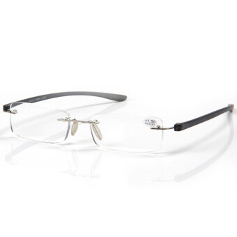 Lightweight Anti-Fatigue Computer Reading Glasses +2.5 (gray)