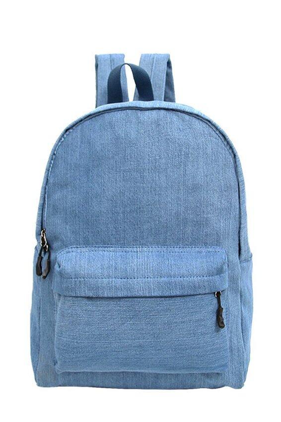 TEEMI Primary School Junior Kids Children Boy Girl Bag Backpack - Light Blue | Lazada Malaysia