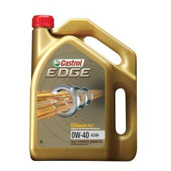 Original castrol fully synthetic engine oil 0w 40 4l for Bp select motor oil