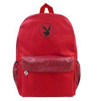Playboy Backpack School Bag Laptop Compartment | Lazada Malaysia