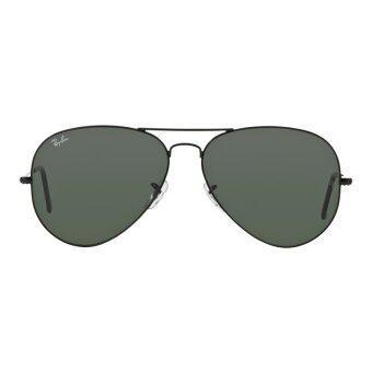 3528276c63 Ray Ban Rb3026 Aviator Green Lense Black Frame Sunglass « Heritage Malta