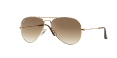 ray ban outlet kuala lumpur  ray ban aviator large metal crystal brown gradient lenses rb3025 001/51 man sunglass
