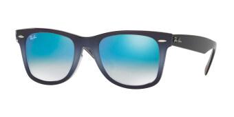 ray ban wayfarer lenses lpi4  RAY-BAN WAYFARER MIRROR GRADIENT BLUE Lenses RB2140F 11984O MAN SUNGLASS