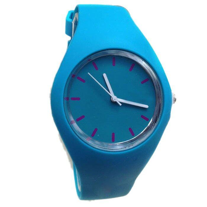 new geneva silicone watches fashion sports outdoor unisex
