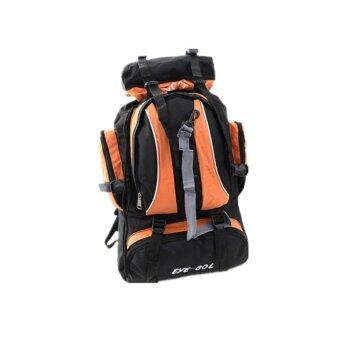 Sports Cam Hiking and Camping Backpack - Orange