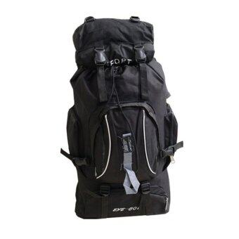 Sports Cam Outdoor for Hiking and Camping Backpack - Black