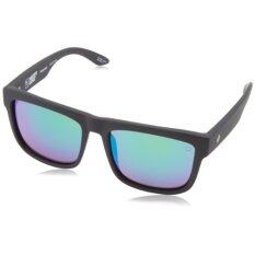 spy optic sunglasses rb1t  Spy Optic Discord Flat Sunglasses, Matte Black, 57 mm