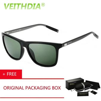 eyewear accessories  VEITHDIA Brand LOGO Retro Aluminum TR90 Sunglasses Polarized Mens ...