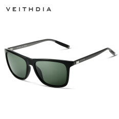 sunglasses brands list tzrf  VEITHDIA Brand Unisex Retro Aluminum+TR90 Sunglasses Polarized Lens Vintage  Eyewear Accessories Sun Glasses For Men/Women 6108Green