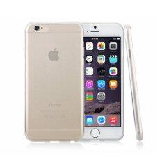 Apple Iphone 6 Plus Ultra Thin TPU Transparent Case 0.4mm-Clear White