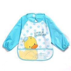 Baby Waterproof Anti-Dressed Bib - Duck