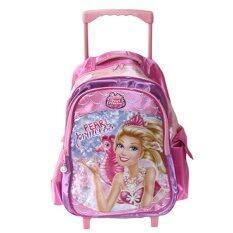 "Barbie the Pearl Princess Troley Bag 16"" BB6946 Pink"