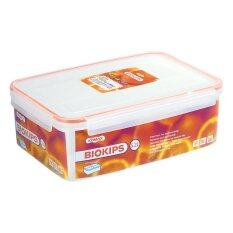 Biokips Container Rectangle with Separator Rd61 5.2L