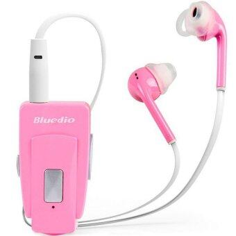 bluedio eh bluetooth headset in ear headphone clip headset pink lazada malaysia. Black Bedroom Furniture Sets. Home Design Ideas