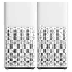 (BUNDLE) 2 x Xiaomi Mi Air Purifier 2 Smart Intelligence Multipurpose with Wireless App Remote and Filter PM2.5 Generation 2 (White)