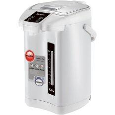 ELBA THERMO POT ETP-D4013(WH) 4Liter Capacity 360 Degree Rotating Base