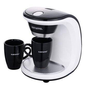 ELBSTAFFEL Coffee Maker BNB-450W 2Cups Gift Coffee machine Coffee pot/ Coffee bean Drip Coffee ...