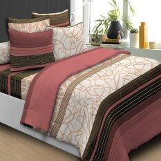 Essina 100% Cotton 620TC Fitted Bed sheet set + Quilt Cover - Machiato