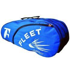 Fleet 2 Zips+ 1 Side Compartment Bag + Sling Strap FT018 Blue