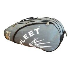 Fleet 2 Zips+ 1 Side Compartment Bag + Sling Strap FT018 Grey