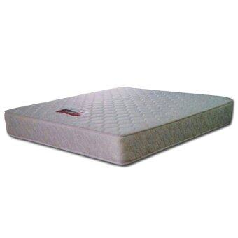 thick queen posture spring mattress with free mattress protector