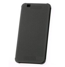 HTC Desire 620 Dot View Flip Case (Black)