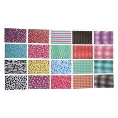 Instax Mini Film Sticker Skin 7 sets of Design 140 pcs