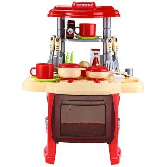Kids kitchen cooking toy set for role play lazada malaysia for Kitchen set for 7 year old