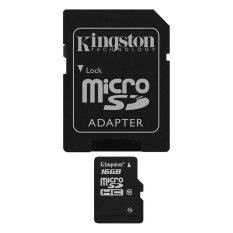 Kingston 16GB MicroSD Class 10 with Adapter