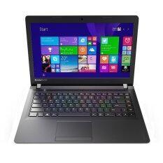 "Lenovo IdeaPad 100 Notebook – Intel Core i3 / 500GB / 2GB / 14"" / Black"