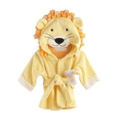 Lion Cartoon Cotton Towel Bathrobes