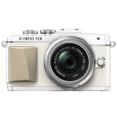 Olympus E-PL7 Mirrorless Camera 14-42mm EZ Lens Kit + 8GB + Case (White)