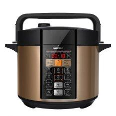 Philips HD2139 6L Electric Pressure Cooker (Brown)