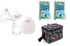PROMOTION! Lacte Solo Electric Breastpump 2 YEARS WARRANTY+ JJ SONIA COOLER BAG+JJ MOM´S LOVE ICE PACKx2