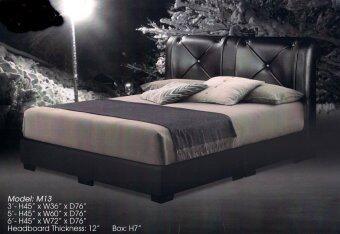Queen size divan bed 13 5ft lazada malaysia for Queen size divan